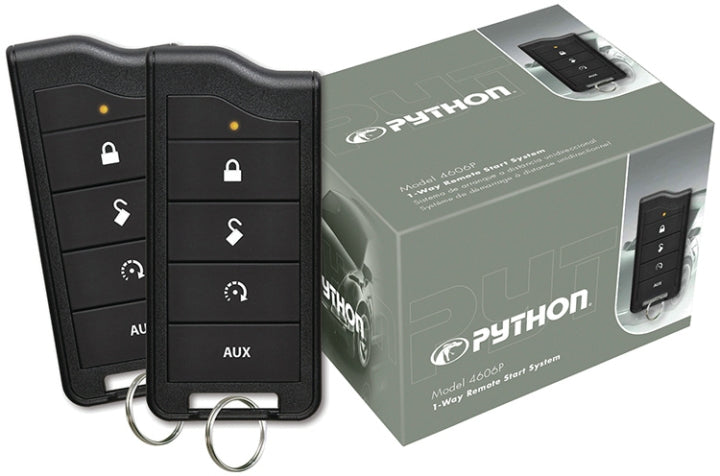 PYTHON 4606P 1 WAY REMOTE START 1/2 MILE