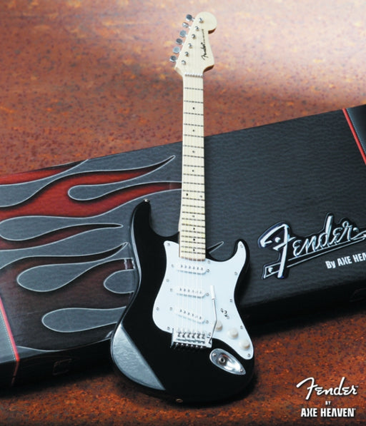 Axe Heaven FS-002 Licensed FenderTM® Strat-Classic, Black Collectible