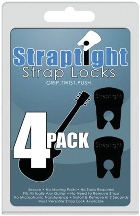 M&M 1STLOCK4PK Straptight Strap Locks Grip Twist 4pack