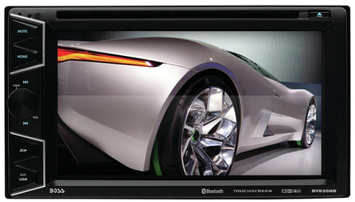 "Boss Double-Din 6.2"" Widescreen Touchscreen Digital TFT Monitor DVD"