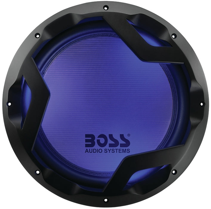 "Boss PD12LED  12"" 1600 Watt 4-Ohm Subwoofer"
