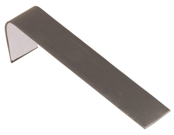 M&M BD-1239R-SG Faux Leather Bracelet Display Ramp - Steel Gray
