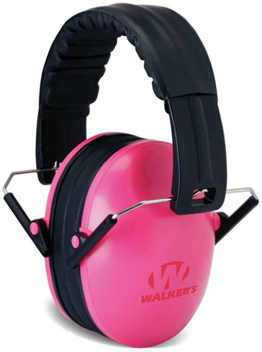 Walkers GWP-FKDM-PK Kid Size Shooting Muffs Pink