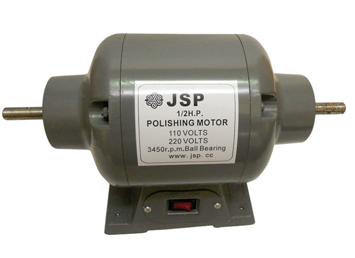 POLISHING MOTOR 1/2HP 2 tapered spindles