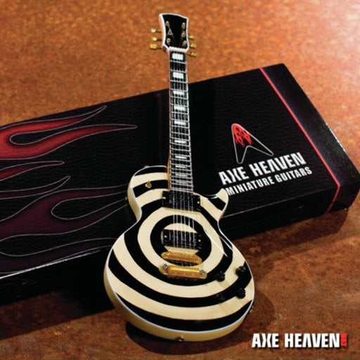 Axe Heaven ZW-007 Wylde Tribute Bullseye Mini Guitar