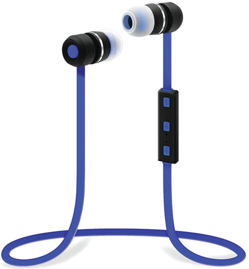 Sentry BX150BL Bluetooth Earbuds with Microphone - Blue