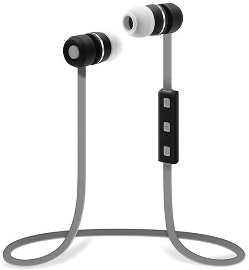 Sentry BX150GY Bluetooth Earbuds with Microphone - Gray