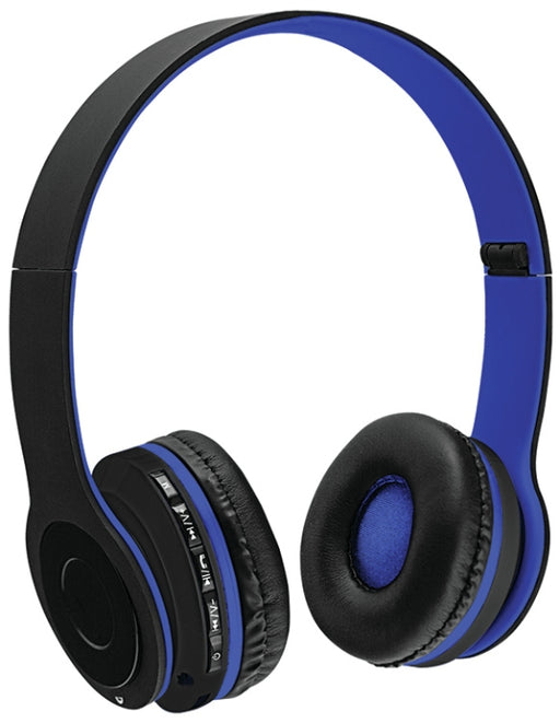 Sentry BX200BL  Bluetooth Headphones with Microphone - Blue