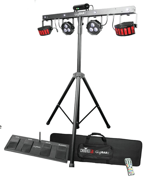 Chauvet GIGBAR2 Gig Bar IRC 5pc Set