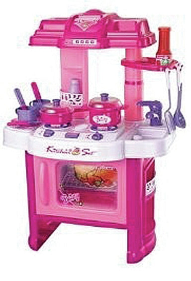 "M&M TF826   24"" Beauty Kitchen Set w/ Light and Soun"