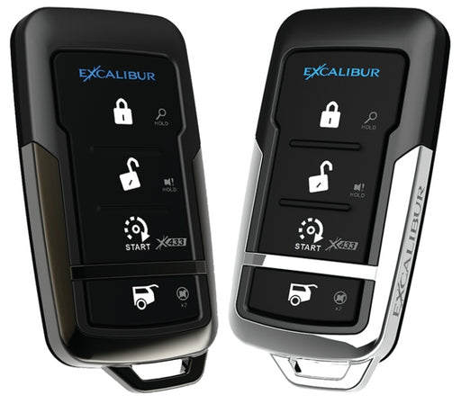 Deluxe 1-Way Vehicle Security /& Remote Start System EXCALIBUR AL-1670-B