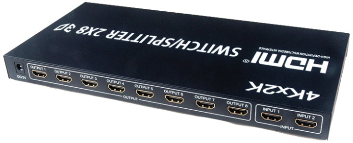 Nippon HD-0208-4   1.4v HDMI 2x8 Splitter