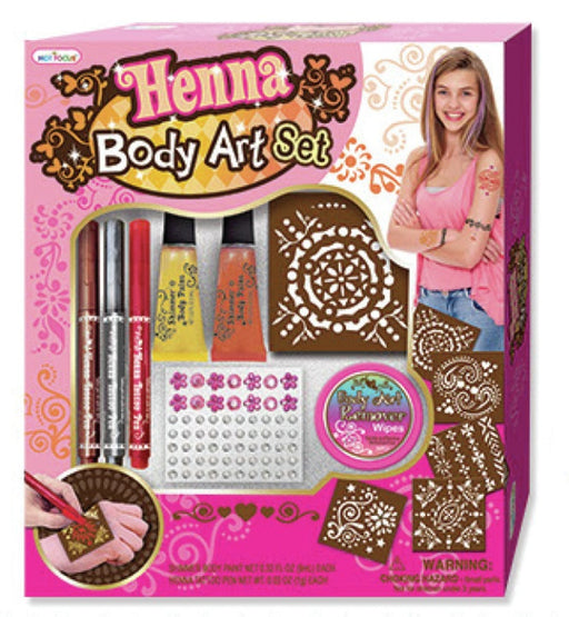 Hot Focus HF-076B  Henna Body Art Set
