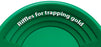Garrett 1651100  14 inch Gold Pan Trap