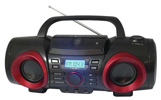 Naxa NPB-267   Bluetooth CD AM FM Boom Box