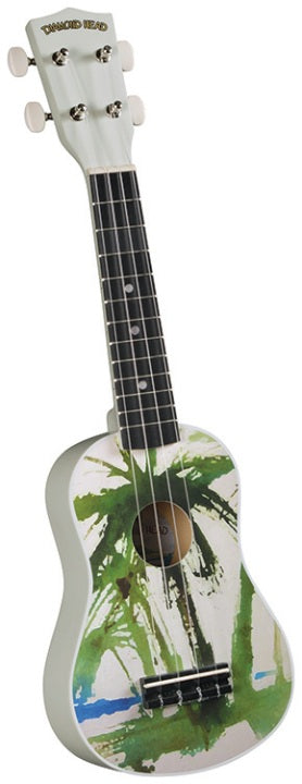 Dia-Head Palm Tree  Sop Uke Satin Finish