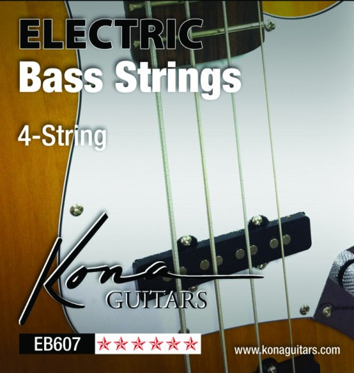 Kona 4-String Bass Guitar Strings