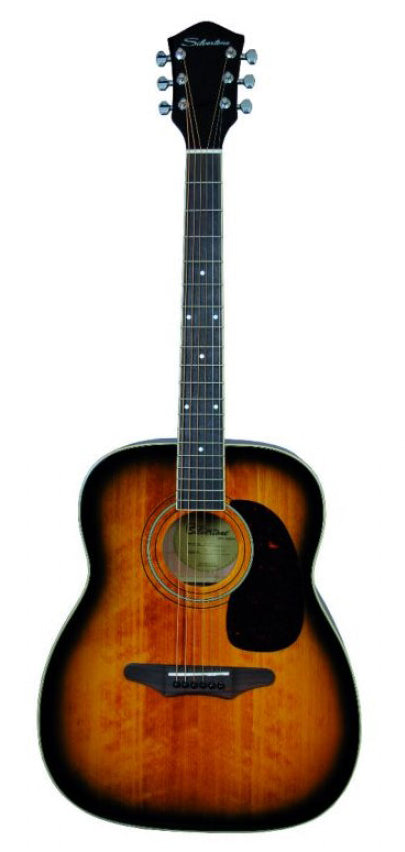 633 AVS Silvertone Spruce Top  Jumbo Dreadnought
