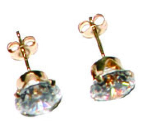 14k 1/4Ct Cz Earrings