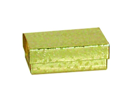 "M&M EGB21 Gold Cotton Filled Box 2 1/2"" x 1"" x 7/8"""