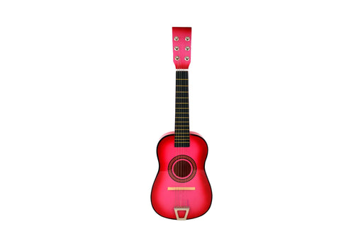 202-PINK 23 inch Acoustic Guitar Hot Pink