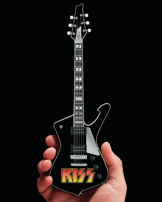 Axe Heaven 2M-K01-5008    Kiss Logo Iceman Mini Guitar