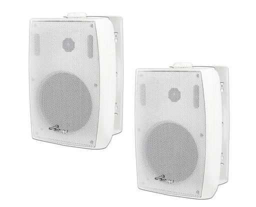 Audiopipe 6.5in Indoor/Outdoor Powered Bluetooth Speakers