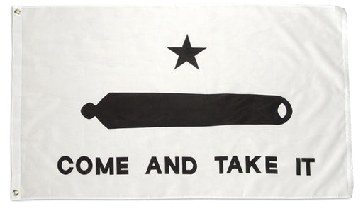 Gonzales Come and Take it Poly Flag 3x5