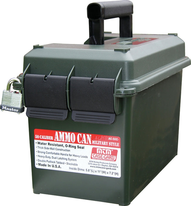 Casegard Green Ammo Can 50 Caliber Can