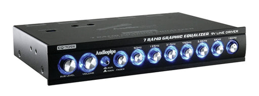 Audiopipe 7 Band Graphic Equalizer