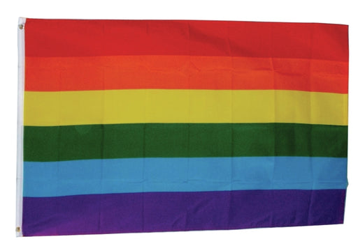 FLAG-835139 Rainbow Pride 3 x 5ft Polyester Flag