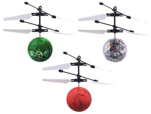 GenTek GT-31010 Flying Ball Helicopter - Assorted colors