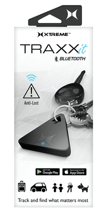 Xtreme XT-XEX60101BLK Black TraxxIt Bluetooth Key Tracker