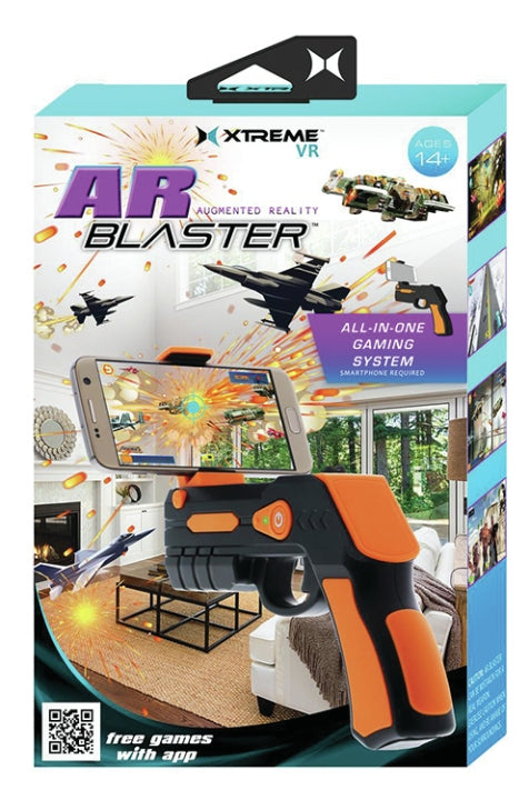 Xtreme XT-XSX51020BLK AR Blaster Augmented Reality plus Games
