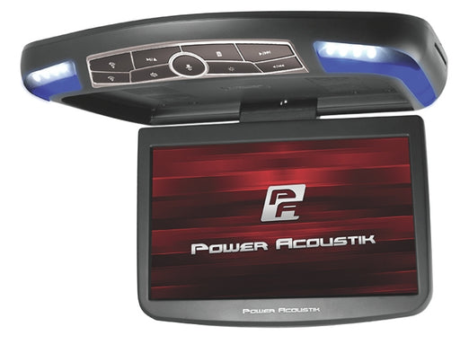 Power Acoustik 13in Roof Mount DVD System with LED Lights