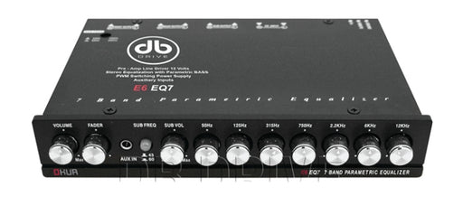 DB Drive E6-EQ7 7 Band Parametric Equalizer