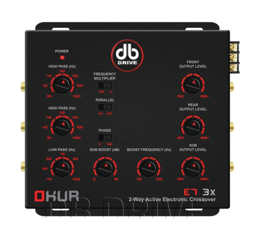 DB Drive E7-3X Three Way Electronic Crossover