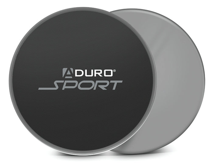 Aduro S-GDS-01 Exercise Gliding Discs Gray/Black