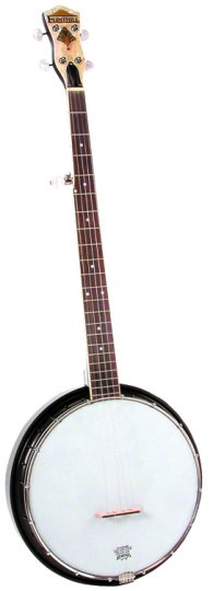 "Flinthill FHB55 16 Bracket Banjo with 5th Peg and 11"" Composite Rim"