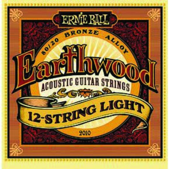 Ernie Ball 12 String Guitar Strings