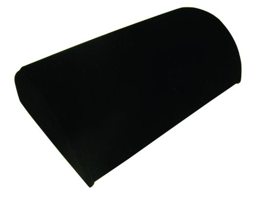 Pillow Shape Display in Black Velvet
