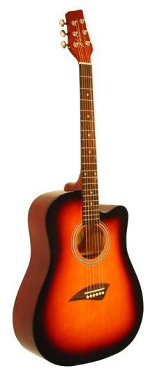 Kona K1 Series Acoustic Dreadnought Cutaway Guitar