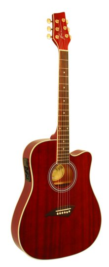 Kona K2 Series Thin Body Acoustic/Electric Guitar