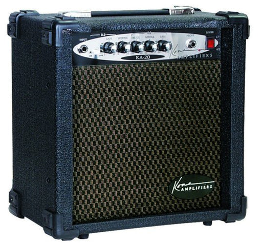 Kona 20 Watt 2-Channel Guitar Amplifier with Overdrive