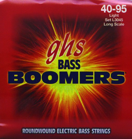 GHS Boomers Light Electric Bass Strings