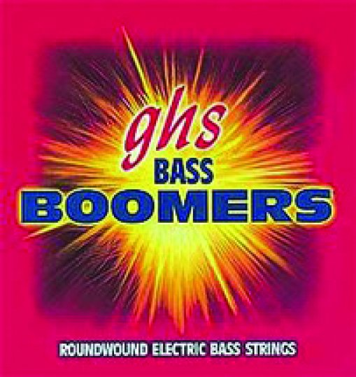 GHS Boomers Medium Electric Bass Strings