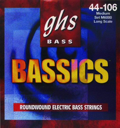 GHS Medium Bassics Electric Bass Strings