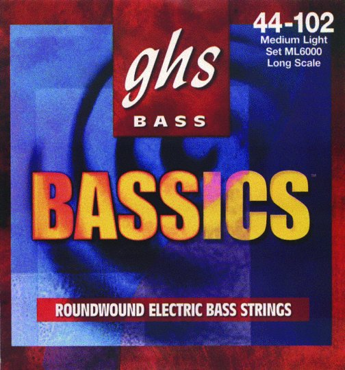 GHS Medium/Light Bassics Electric Bass Strings