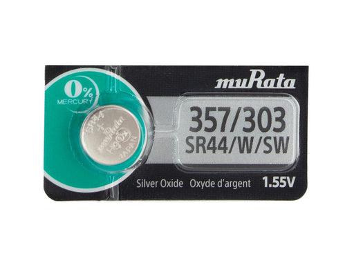 S357/303 Murata-Battery 357 303 SR44 Tear Strip