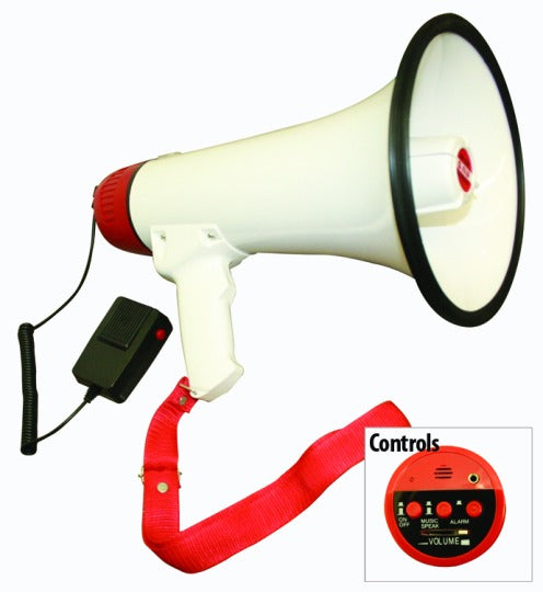 Hand Held Power Megaphone with Siren